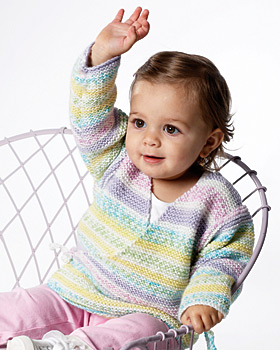 Knit Baby Kimono Pattern- free beginner knit patterns