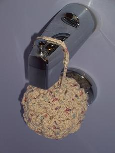 Crochet Pattern: Super Fluffy Bath Puff