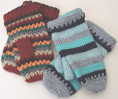 Crochet Mitten Pattern Free Crochet Patterns