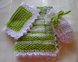 Knit Spa Gift Set