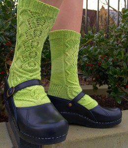 Absinthe Sock Pattern