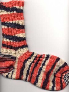 Purl When Ready Sock Pattern