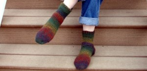 Toe Up Crochet Socks
