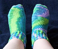 Crochet Light Weight Socks