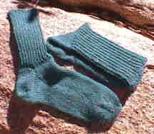 Knit Toe Up Socks Pattern