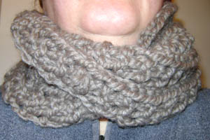 Mobius Scarf | Hook, Yarn, and Needles the Old Stuff