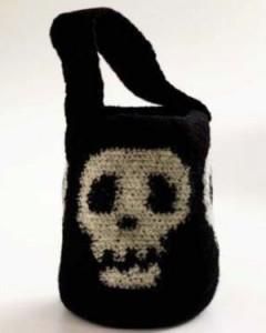 crochet halloween candy bag