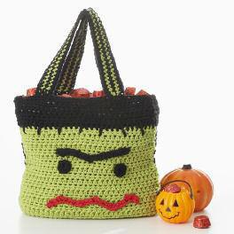Crochet Trick or Treat Bag Pattern
