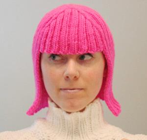 knit pink wig pattern