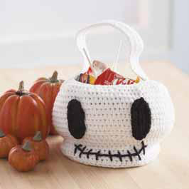 Skeleton Treat Bag Pattern