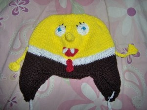 sponge bob square pants hat