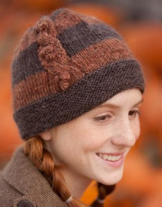 Cable Berries Hat Pattern
