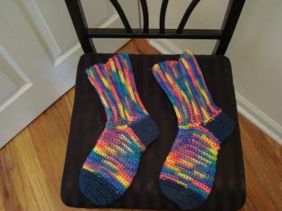 Free Sock Patterns | Knitting & Crochet & Yarn | Purple Kitty