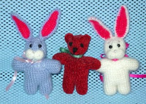 crochet teddy and bunny pattern