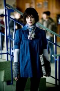 Twilight knit wrist warmers - Alice
