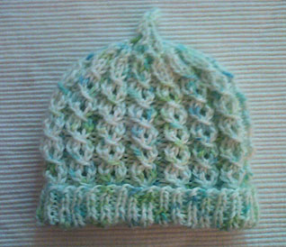 newborn baby knit hat pattern