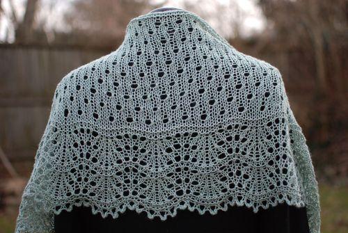Short Row Knitting Patterns : How to Create Short Row Shawls and Shawlettes Knitting Blog