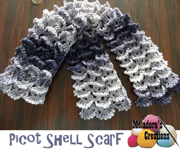 Knitting Stitch Shell : Free Knitting and Crochet Patterns