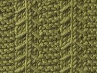 Knitting Stitch Library - Gulls and Garter Stitch