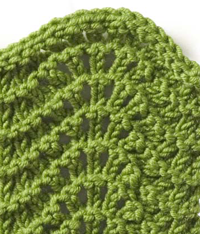 Ripple Lace Knitting Pattern : LIBRARY PATTERN STITCH 1000 Free Patterns