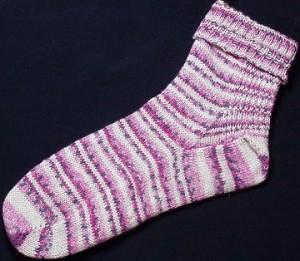 Circular Needle Sock Pattern - Design Patterns
